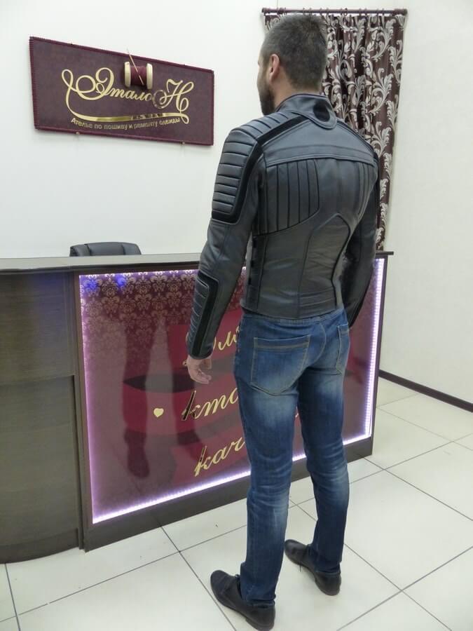 b01eca34896 Сшить кожаную мужскую куртку – ателье «Эталон»